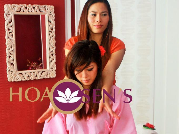 Massage thai des épaules