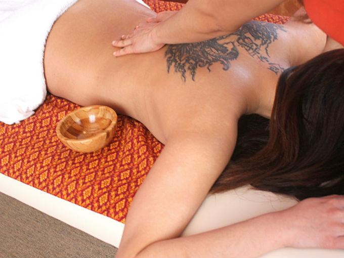 Massage thai aux huiles